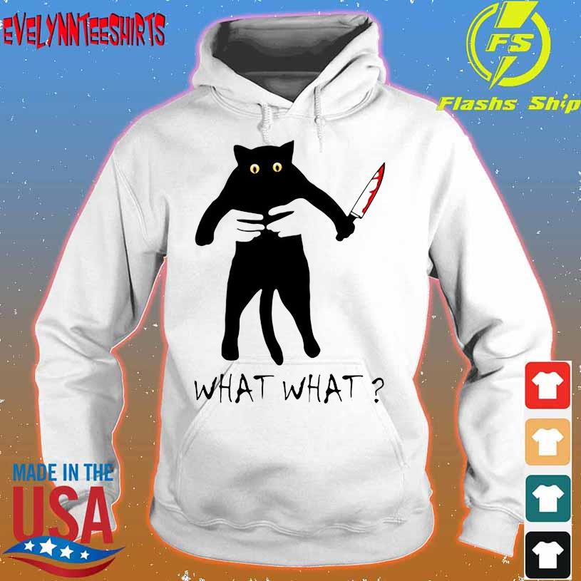 Chucky Black Cat What what hoodie