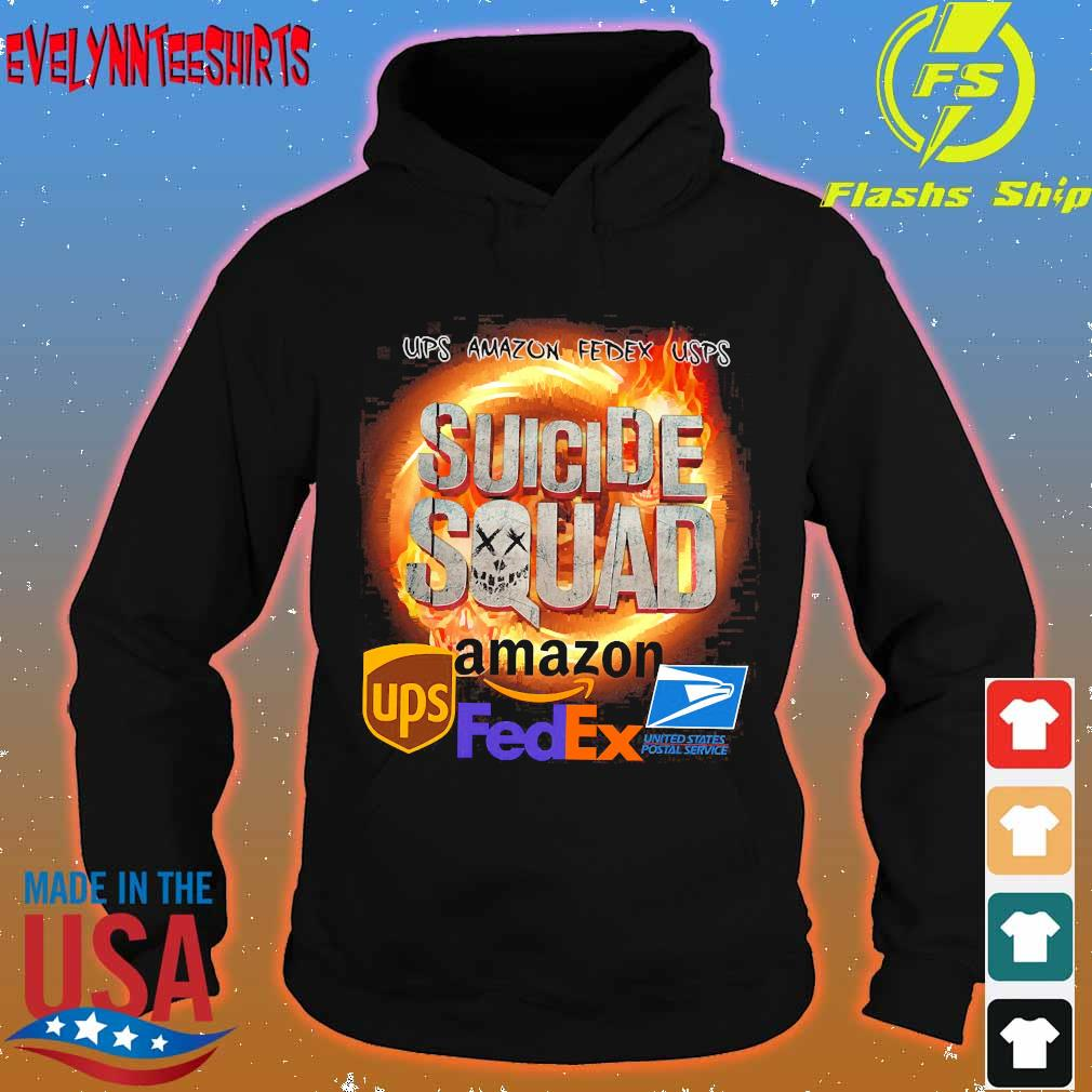 Ups Amazon Fedex Usps Suicide Squad Amazon Ups FedEx Shirt hoodie