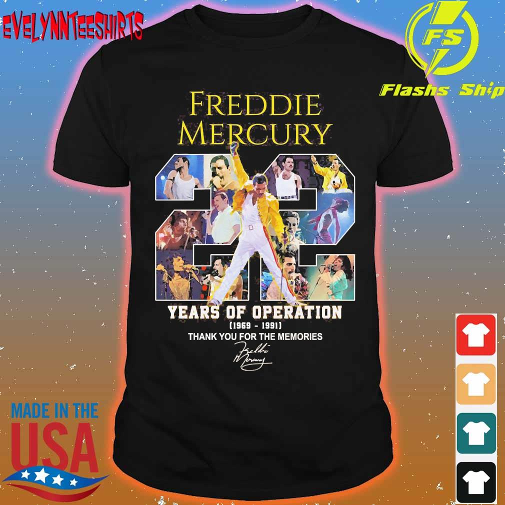 evelynnteeshirts freddie mercury 22 years of operation 1969 1991 thank you for the memories signature shirt bombuteechangat s blog evelynnteeshirts freddie mercury 22