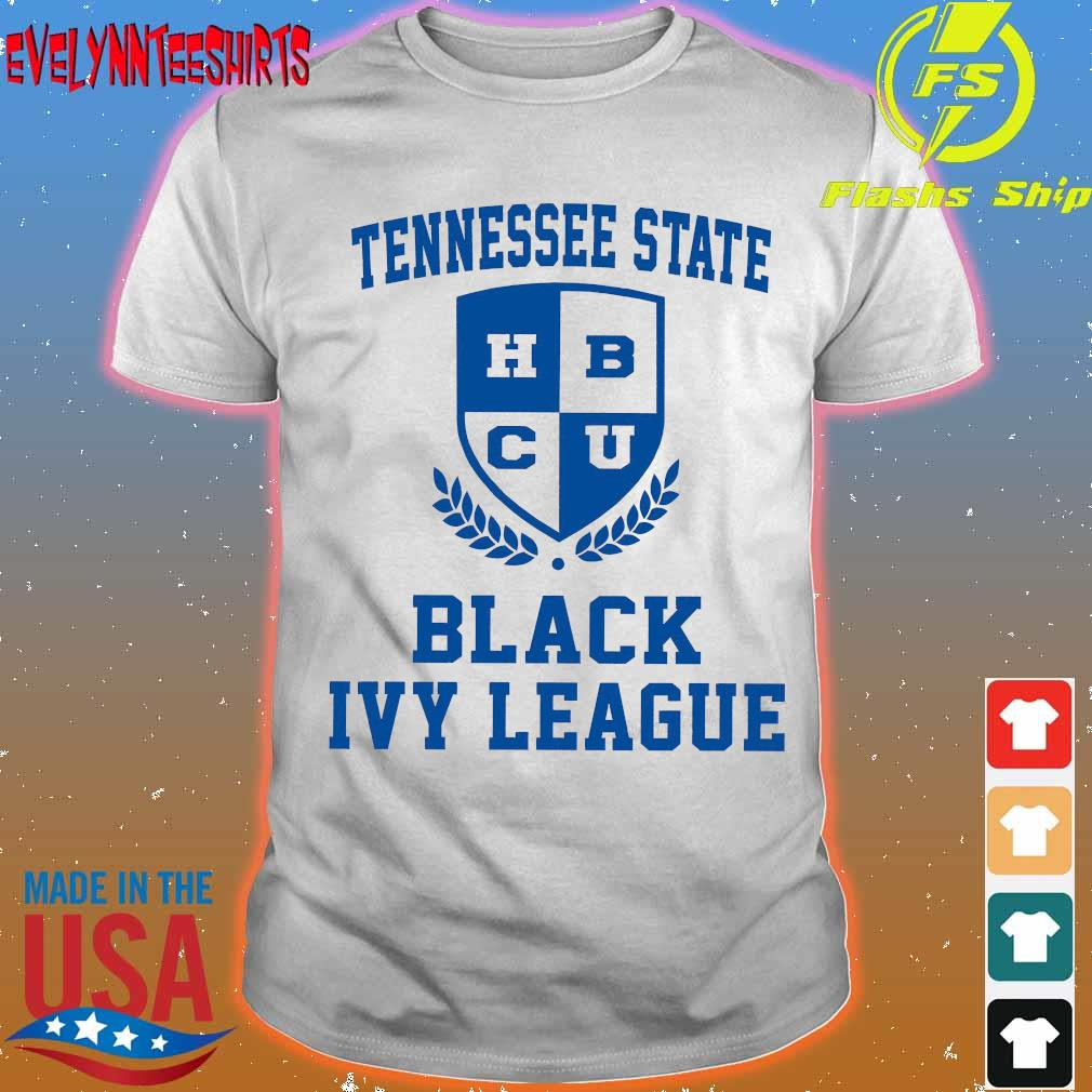 Tennessee State university Black Ivy League shirt