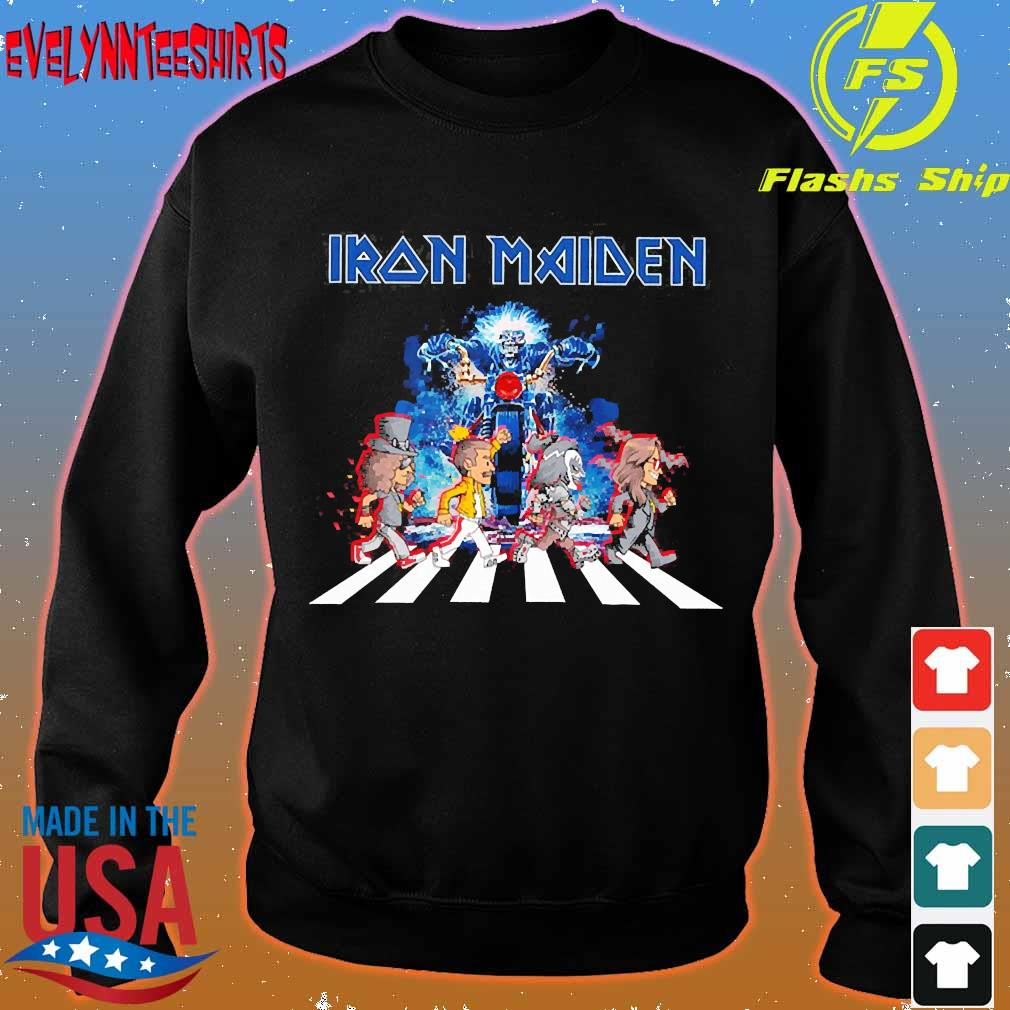 Iron Maiden band members abbey road s sweater