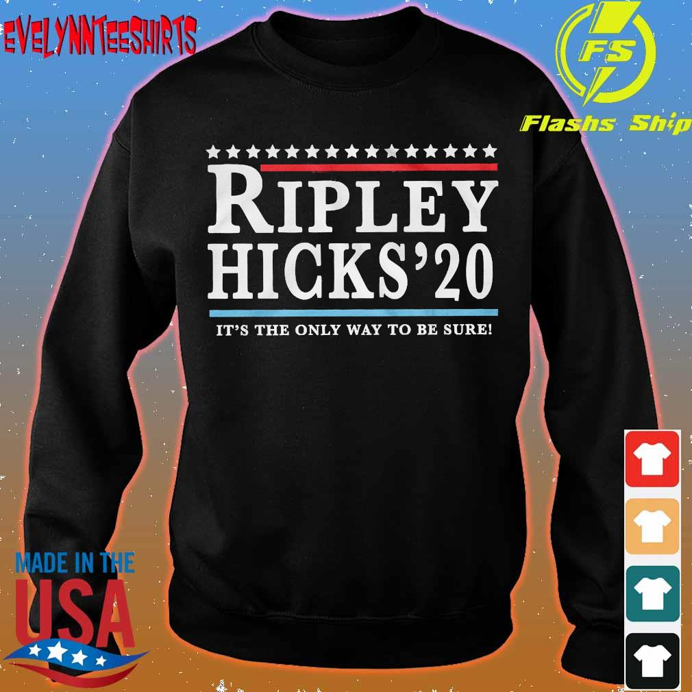 Ripley Hicks'20 It's the only way to be sure s sweater