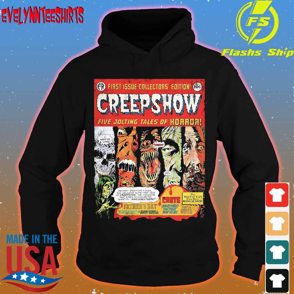 First issue collectors' edition Creepshow five jolting tales of Horror s hoodie