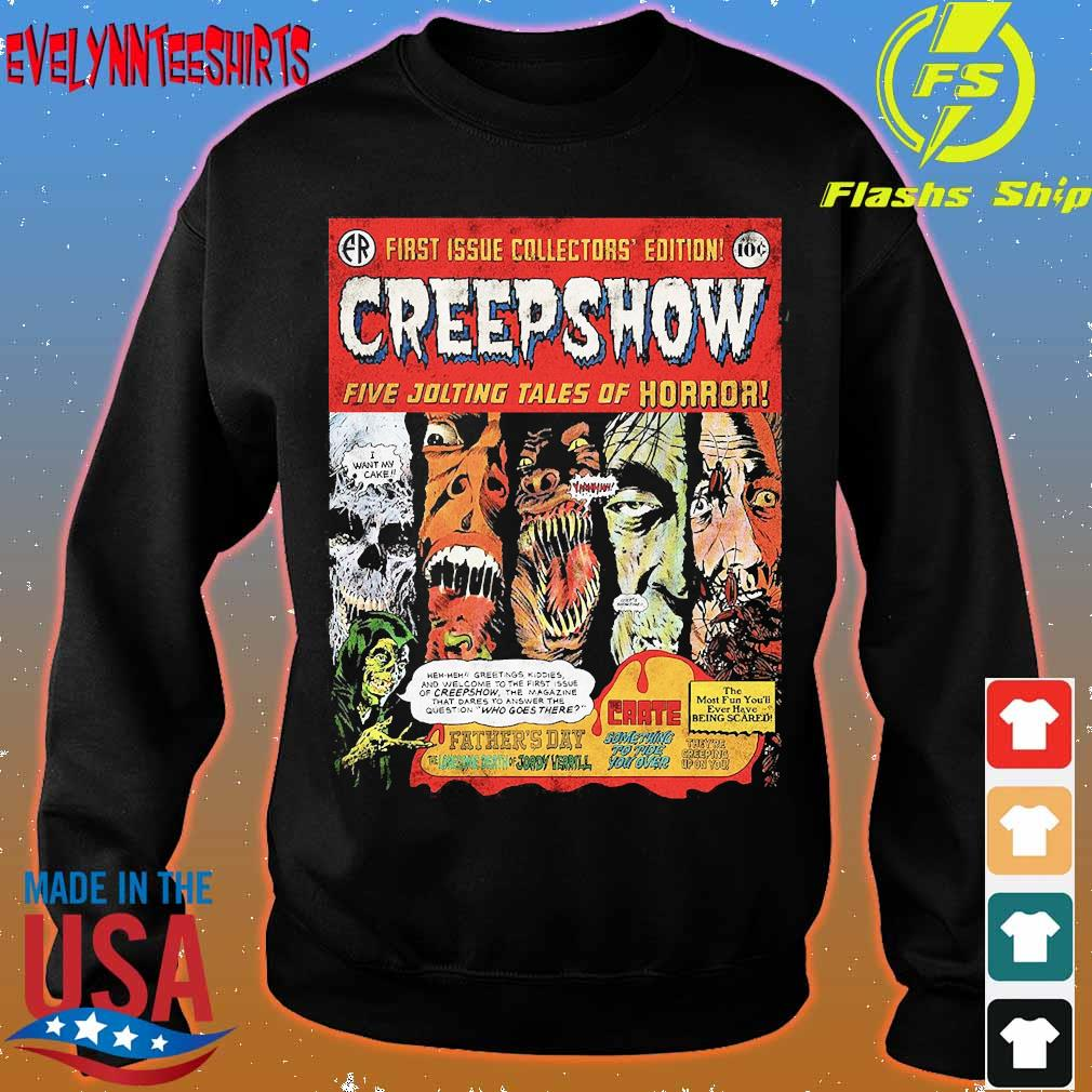First issue collectors' edition Creepshow five jolting tales of Horror s sweater