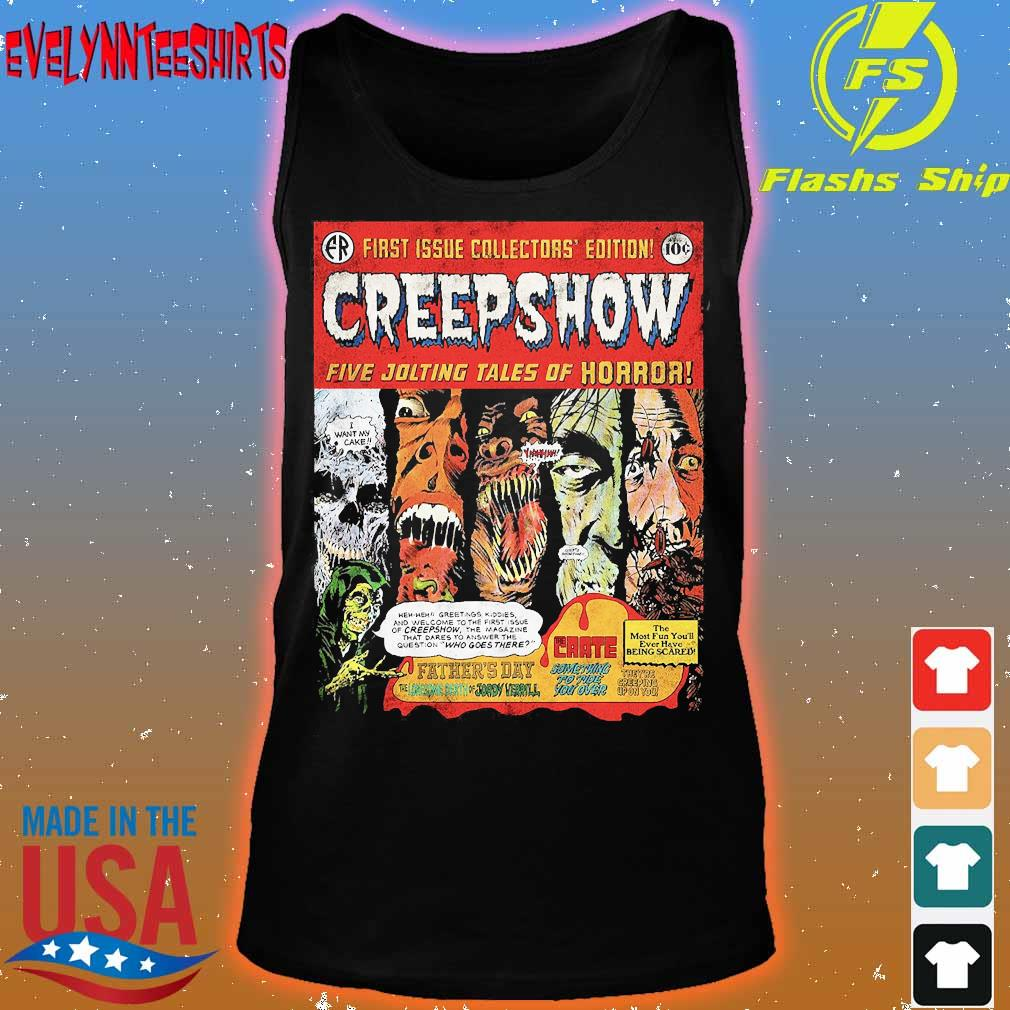 First issue collectors' edition Creepshow five jolting tales of Horror s tank top