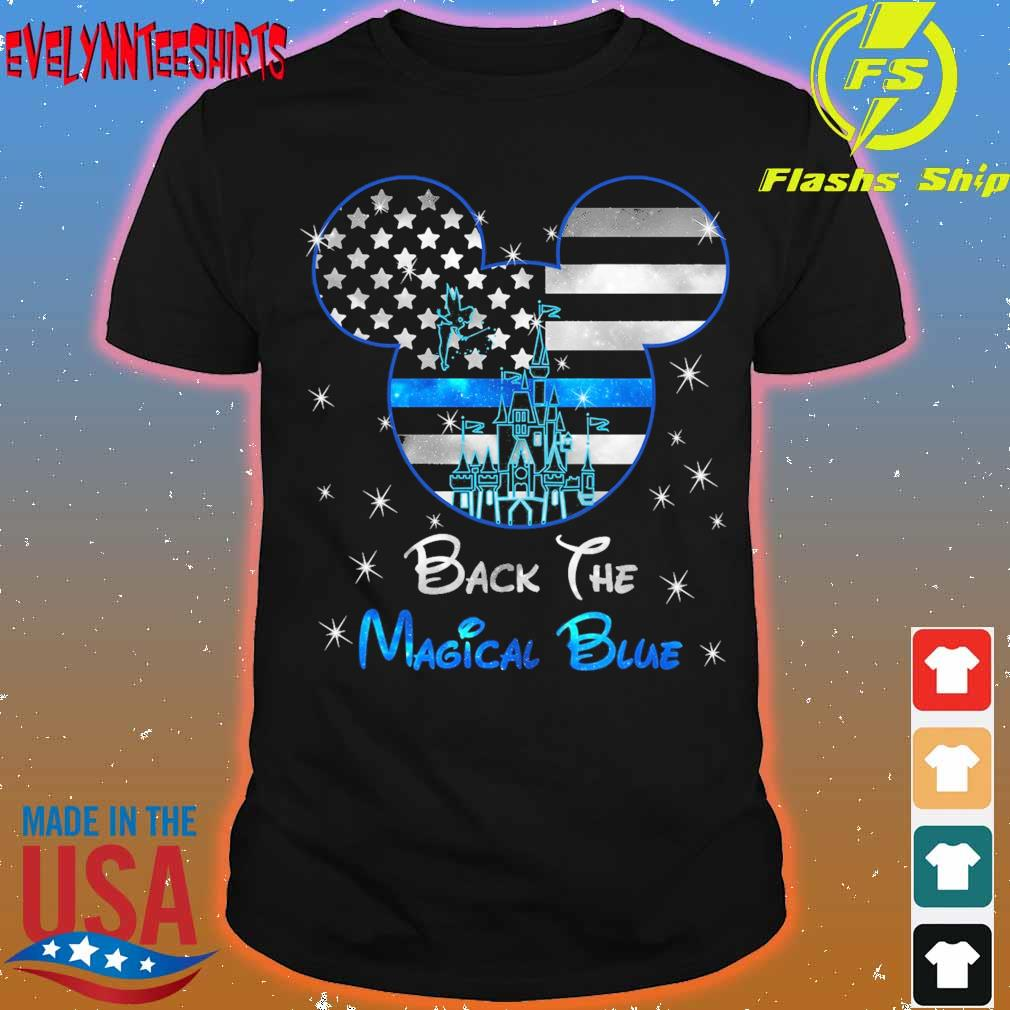 Mickey mouse back the Magical Blue shirt