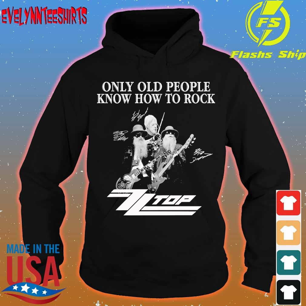Only old people know how to rock Top signature s hoodie