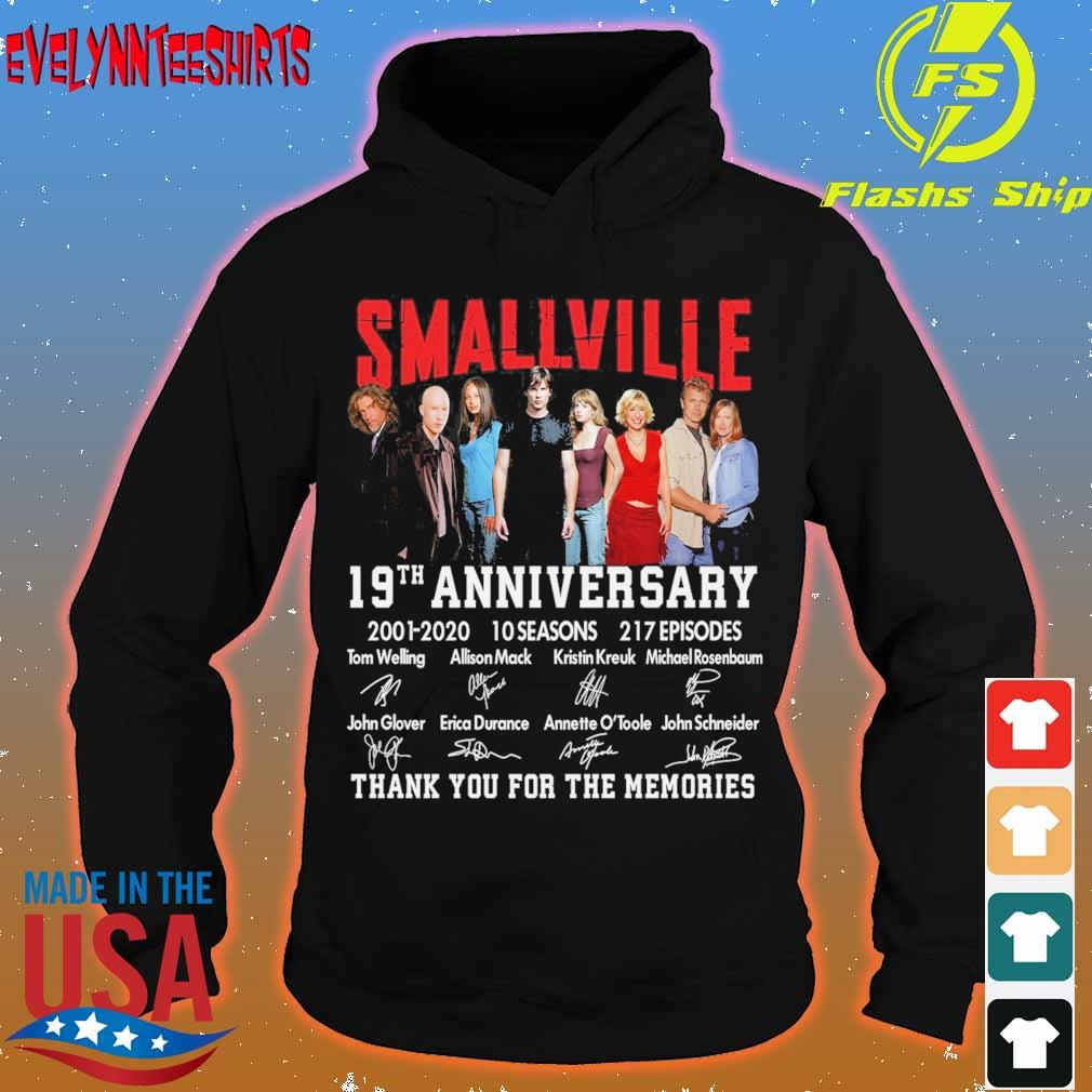 Smallville 19TH Anniversary 2001 10 seasons 217 episodes signatures s hoodie