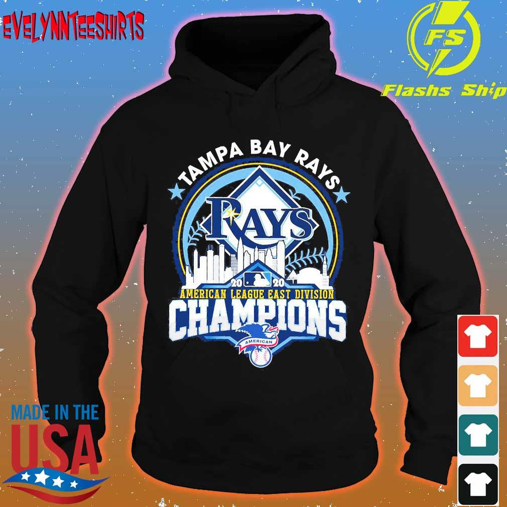 Tampa Bay Rays American league east division champions s hoodie