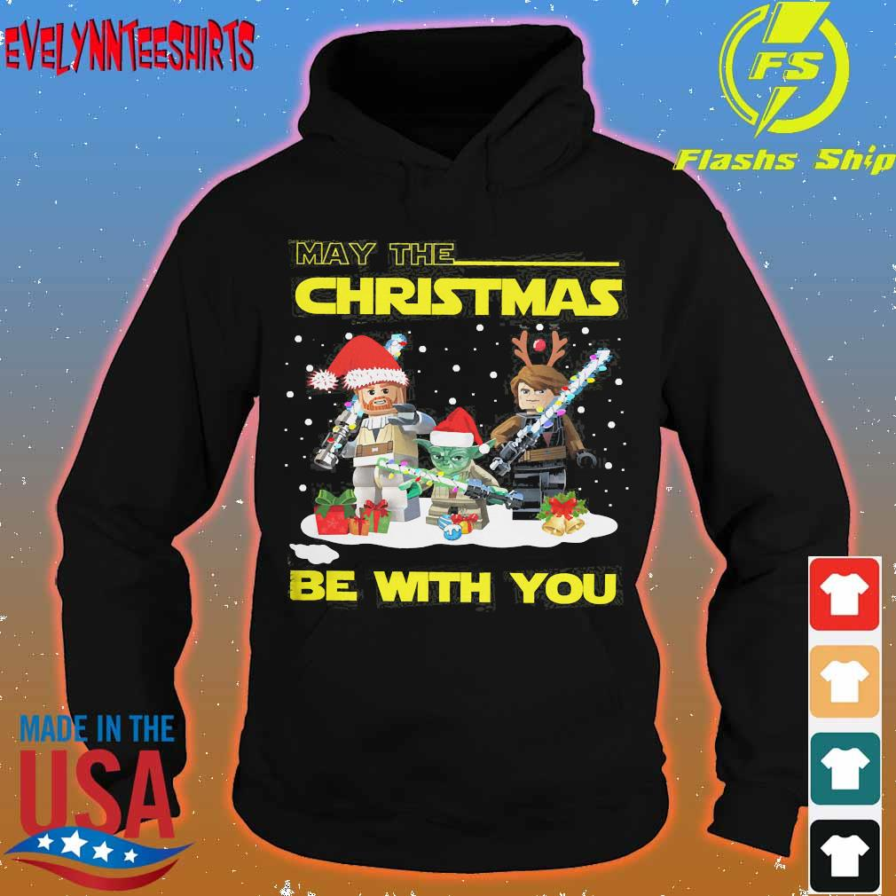 Baby Yoda and Lego Star Wars May the Christmas be with You s hoodie