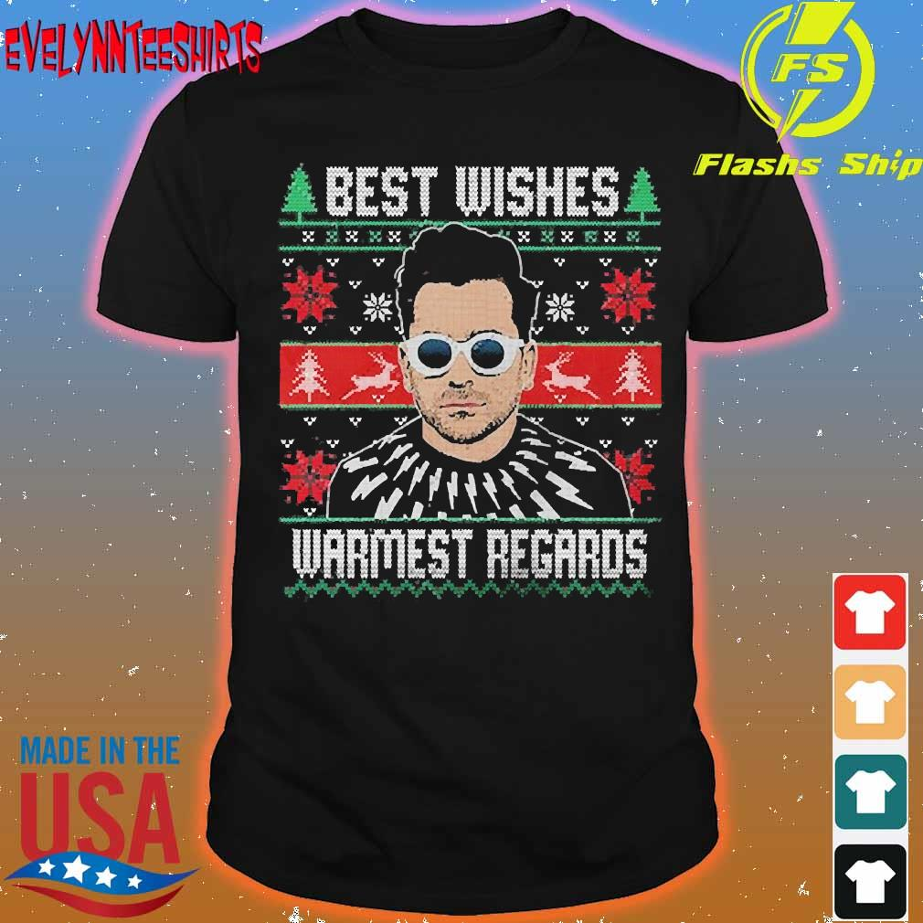 Best wishes warmest regards ugly Christmas shirt